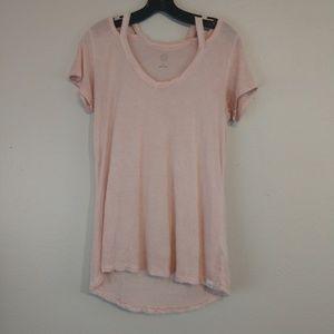 T&B Pink Knit Top - Size Medium